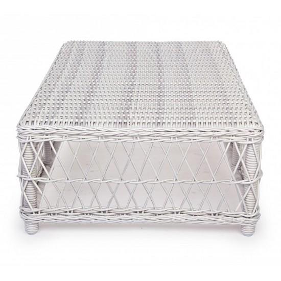 Vivereverde   Tavolino Kosmos Bianco Antico   tavolini da ...