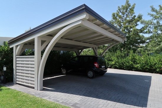 Carport in villa