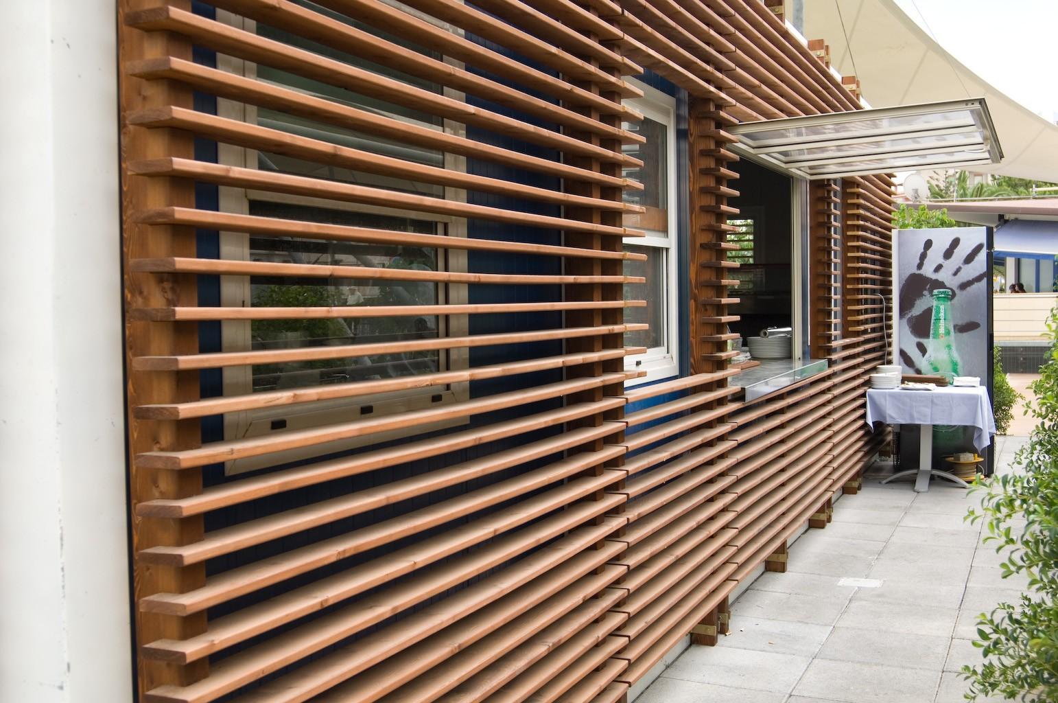 Rivestimento In Legno Per Facciate : Rivestimento in legno per facciate: facciate esterne. rivestimento