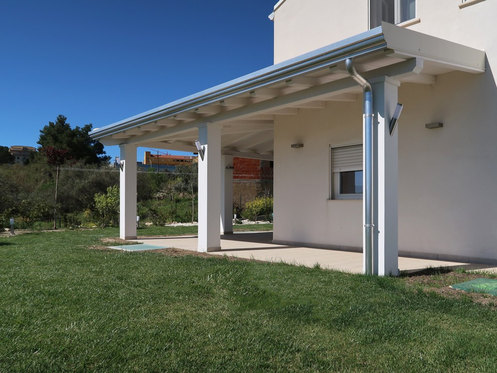 Vivereverde | copertura in legno per giardino | copertura in legno ...
