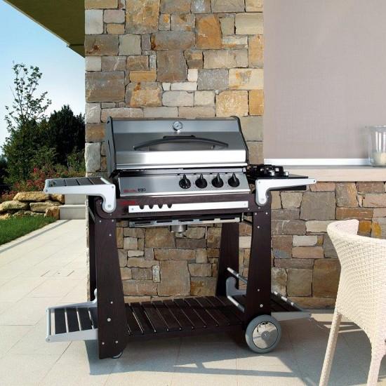 Vivereverde piano cottura 2 fuochi per dolcevitaego - Barbecue esterno design ...
