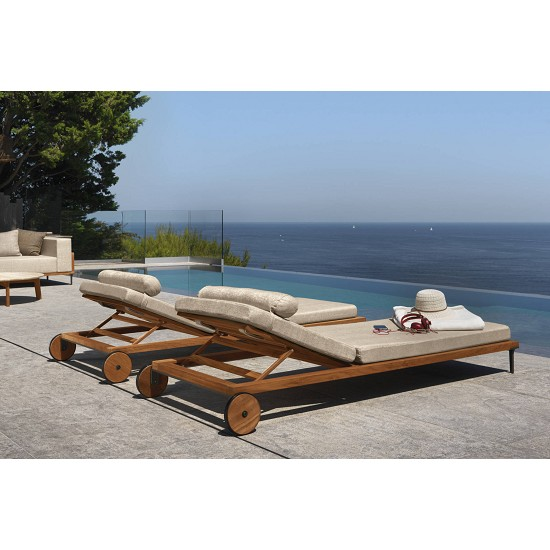 Lettino Cleocollection/Teak
