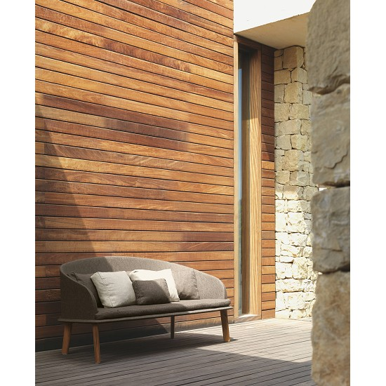 Divano 2 posti Cleocollection/Teak
