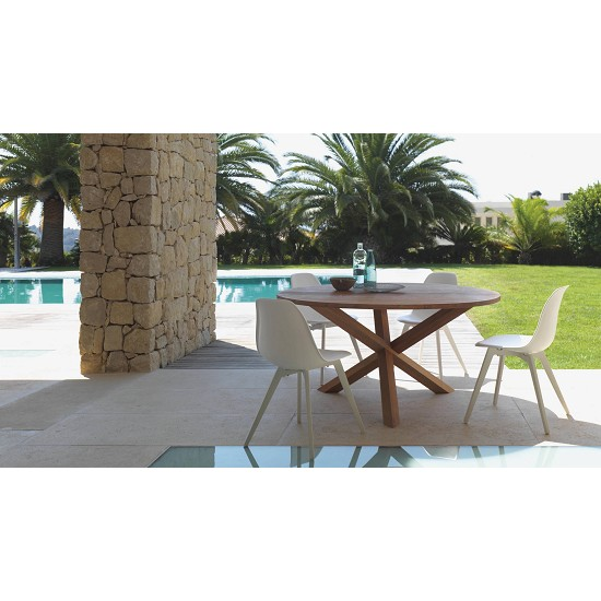 Vivereverde tavolo pranzo 220x110 bridgecollection for Torrisi arredi giardino catania