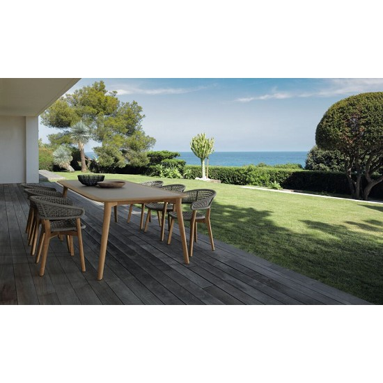 Sedia pranzo Mooncollection//TEAK