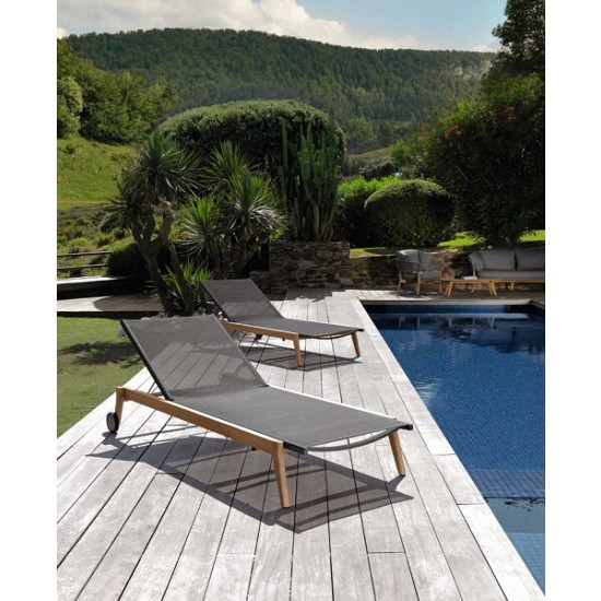 Lettino Mooncollection//TEAK
