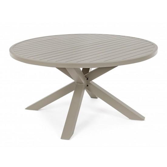 Vivereverde tavolo tondo skipper tavoli da giardino for Torrisi arredi giardino catania