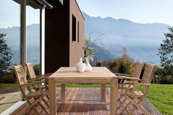 Vivereverde sedia con braccioli maryland sedie da for Mondo convenienza arredo giardino