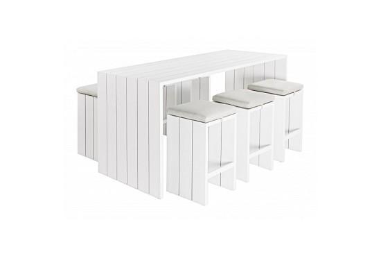Set tavolo bar sgabelli c c atlantic tavolo da giardino