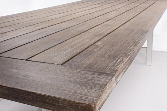 Vivereverde tavolo amos 240x100 fsc tavoli da giardino for Torrisi arredi giardino catania