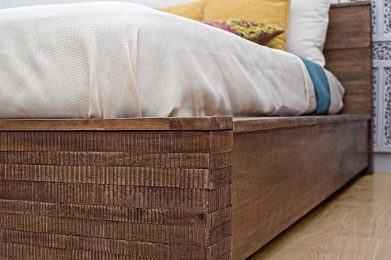 Vivereverde   Letto Jamila   letto basso   letto grande   letto in ...