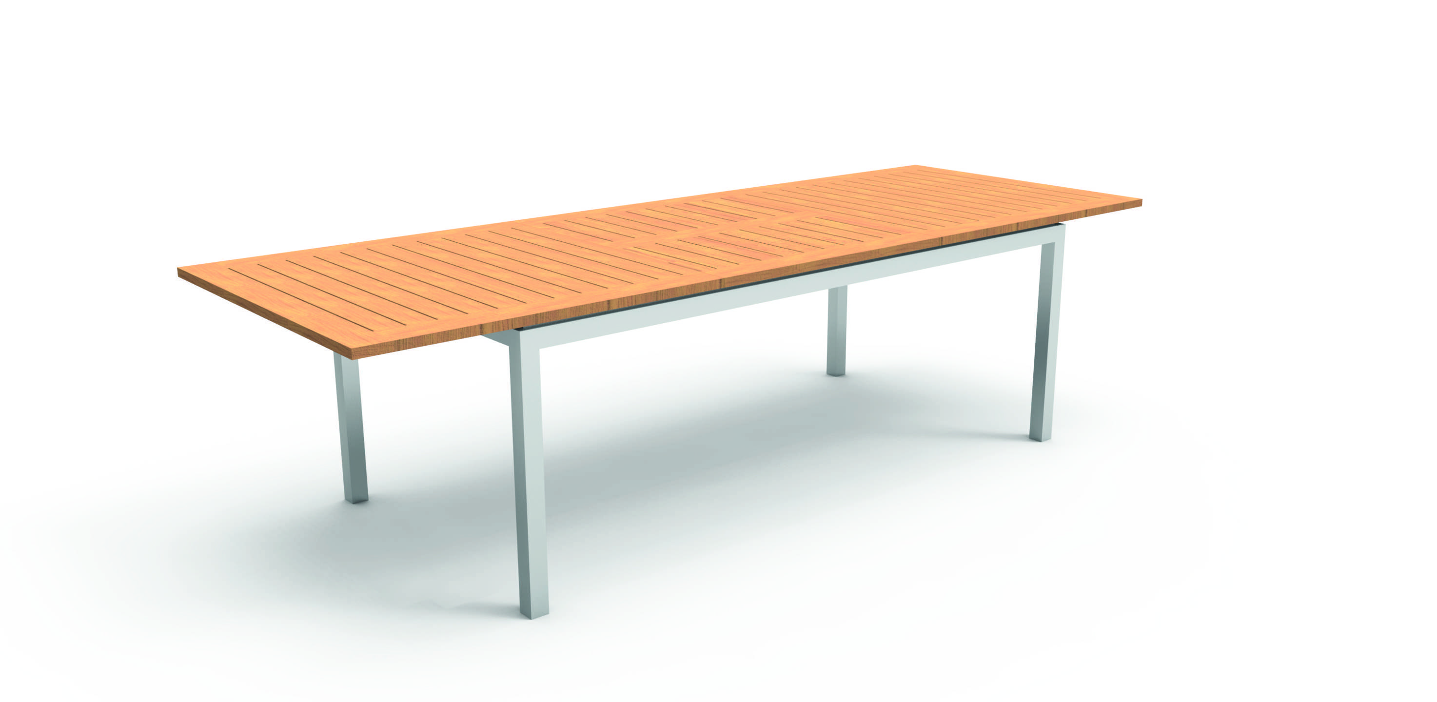 Vivereverde tavolo pranzo 200 280 timbercollection - Emu tavoli da giardino ...