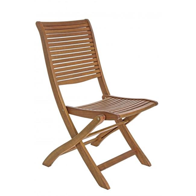 Vivereverde sedia noemi sedie da giardino subito for Sedie da giardino in legno