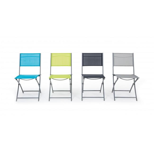 Vivereverde | Sedia Pieghevole Emilia | sedie da giardino stile ...
