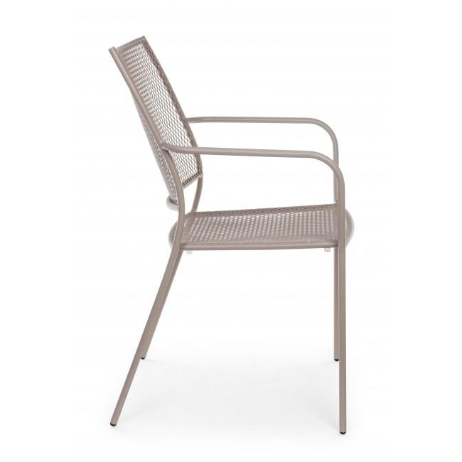 Sedie In Plastica Da Giardino Usate.Sedia Con Braccioli Kristen Sedie Da Giardino Usate In Ferro