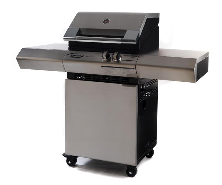 Vivereverde | Turbo 2 Elite con piano cottura laterale | barbecue ...