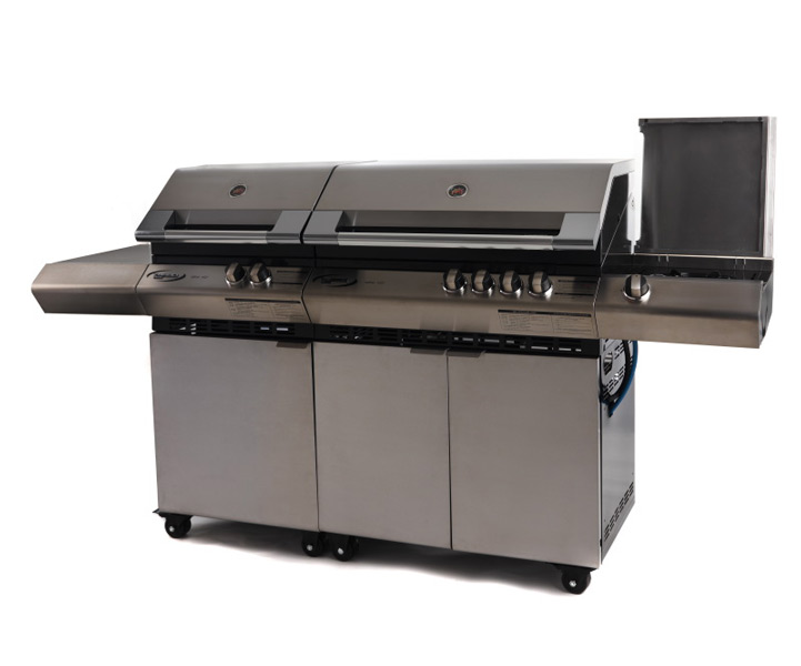Favoloso Vivereverde | Turbo 6 Elite con piano cottura laterale | barbecue  LP37