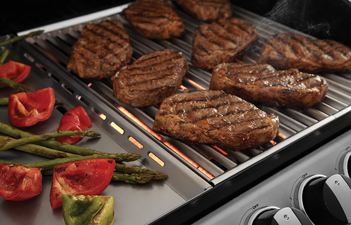 Super Vivereverde | Turbo 6 Elite con piano cottura laterale | barbecue  DL71
