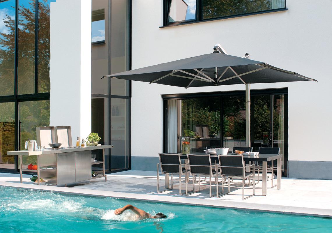 Rodi 300x400 Argento T.Speciale | ombrelloni da esterno per giardino ...