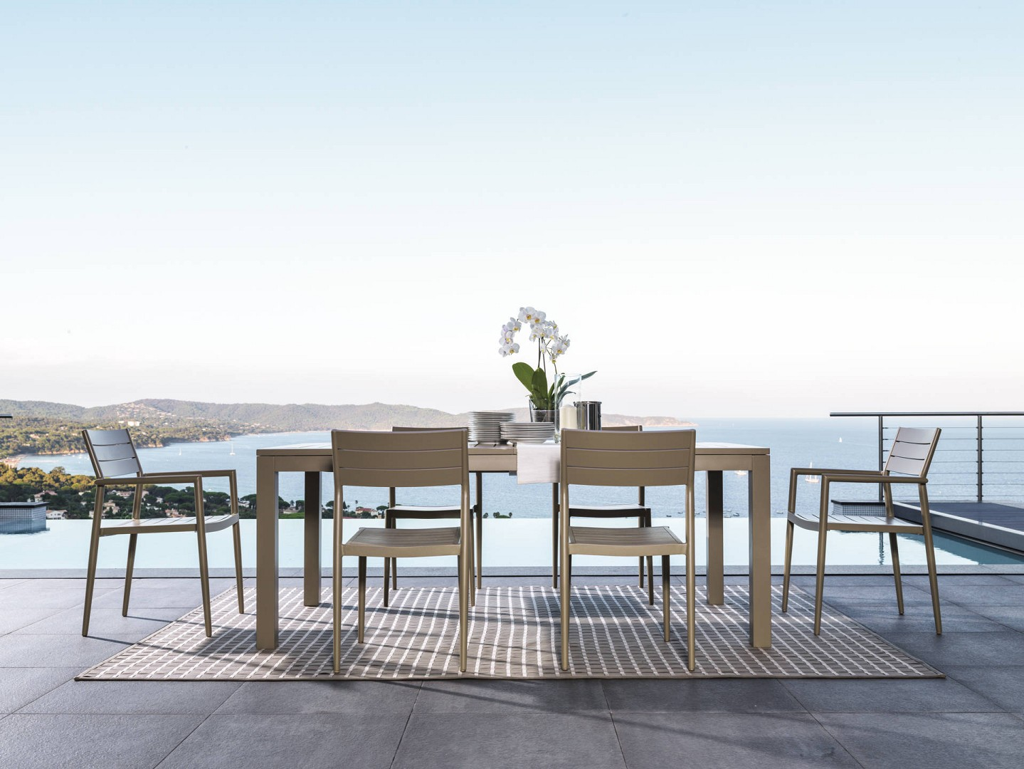 Vivereverde sedia pranzo elite sedie da giardino robuste