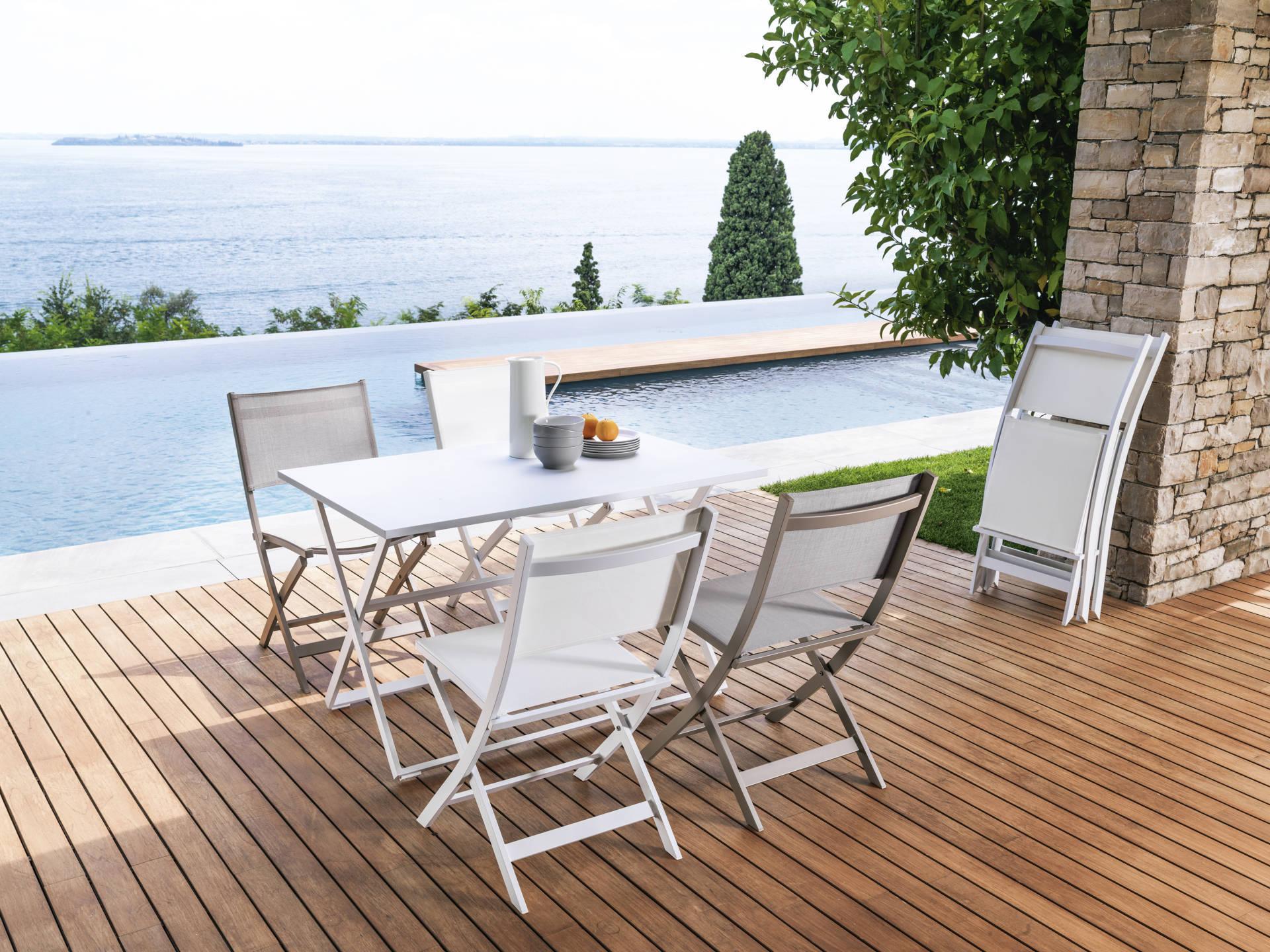Vivereverde tavolo pieghevole 120x80 qeen tavoli da for Vendita tavoli on line