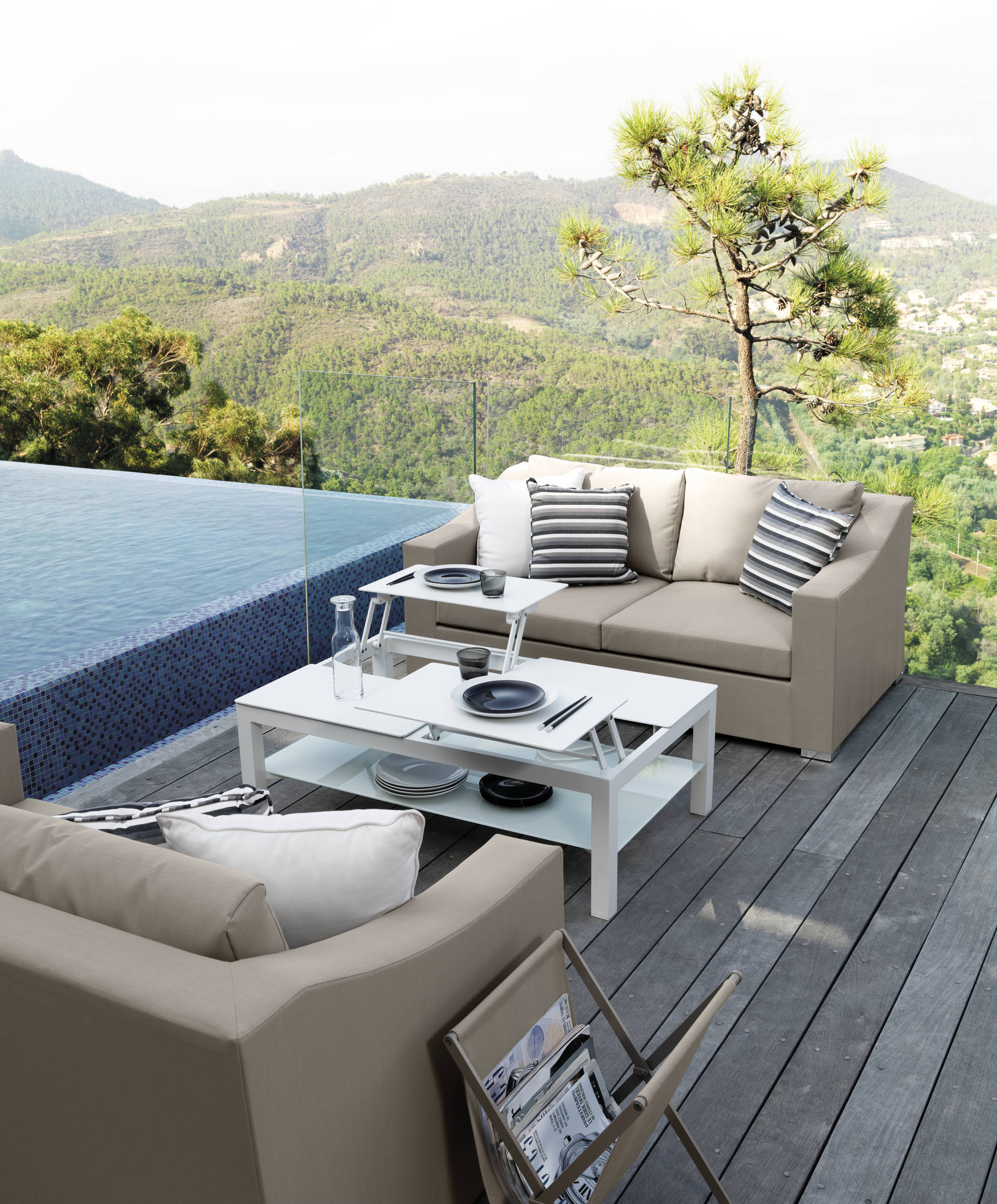 Vivereverde sofa chiccollection divani esterni per for Arredo barche