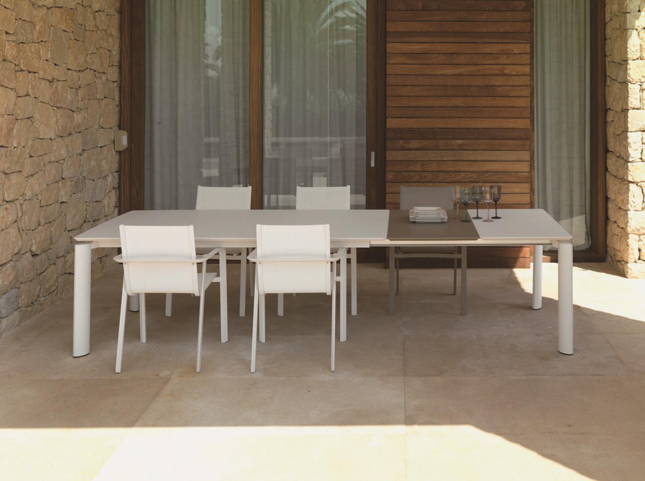 Vivereverde pannello extra solo per tavolo 200 260 milo for Emu tavoli da giardino