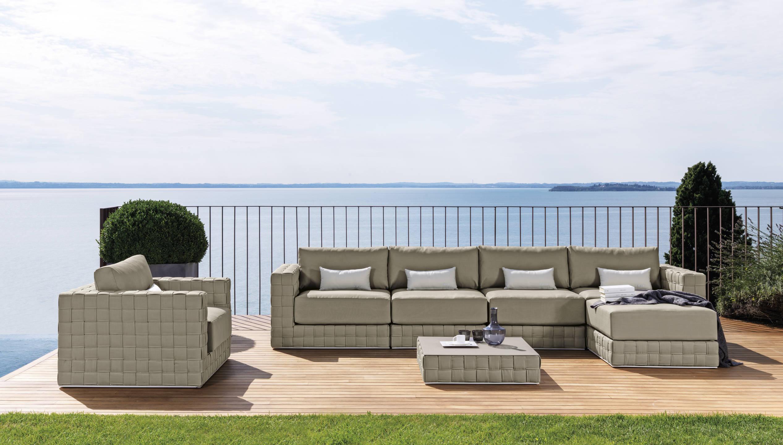 Vivereverde | Divano angolare Patchcollection | divano da giardino ...