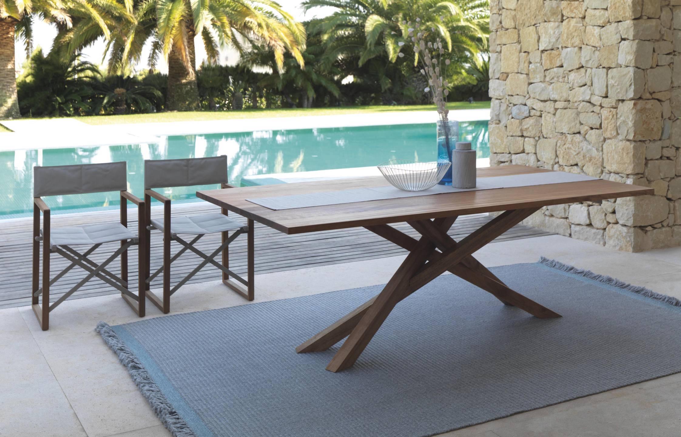 Vivereverde sedia regista bridgecollection sedie da giardino