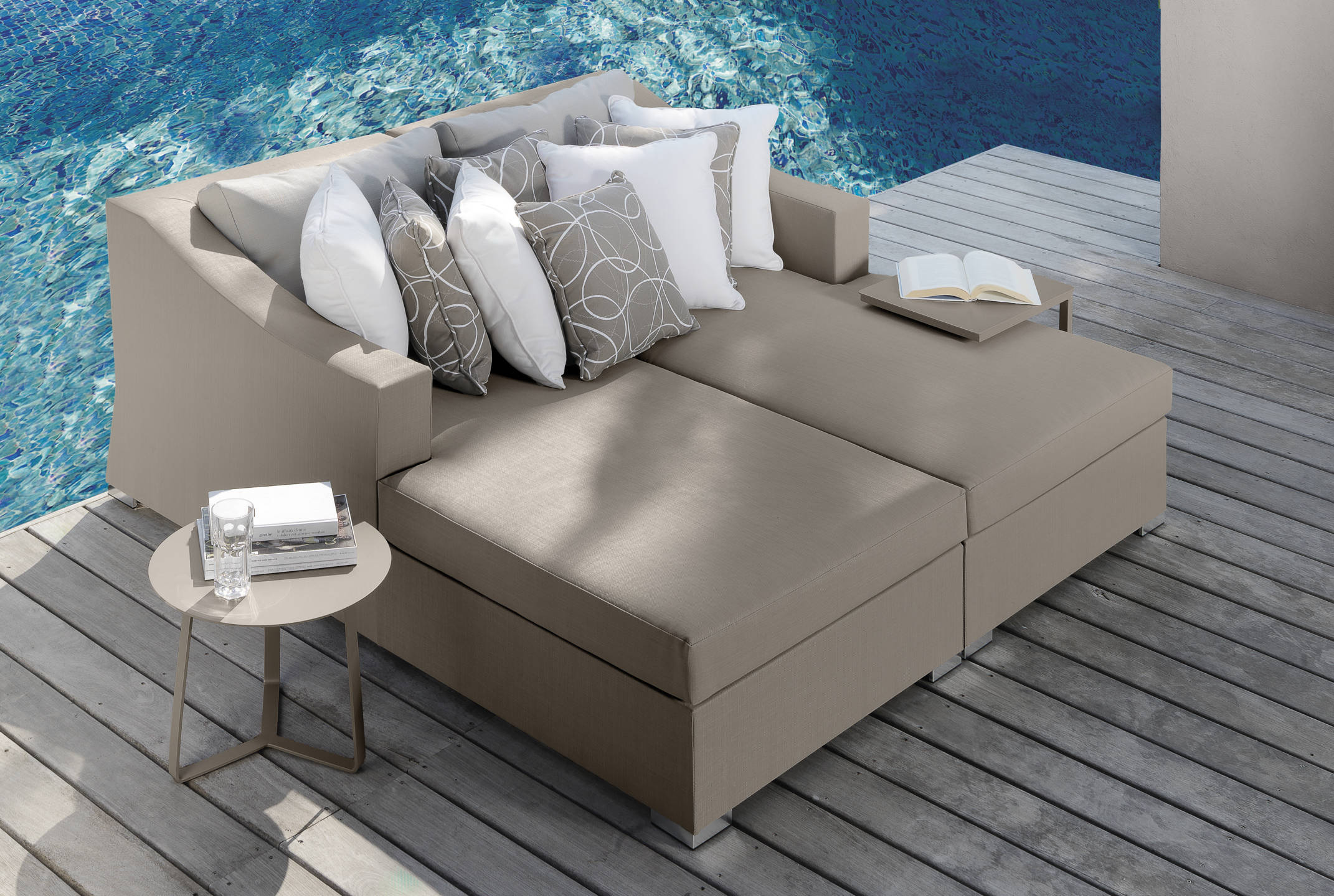 Divani Per Esterni Vendita On Line : Vivereverde sofa lounge sx chiccollection divani per esterni