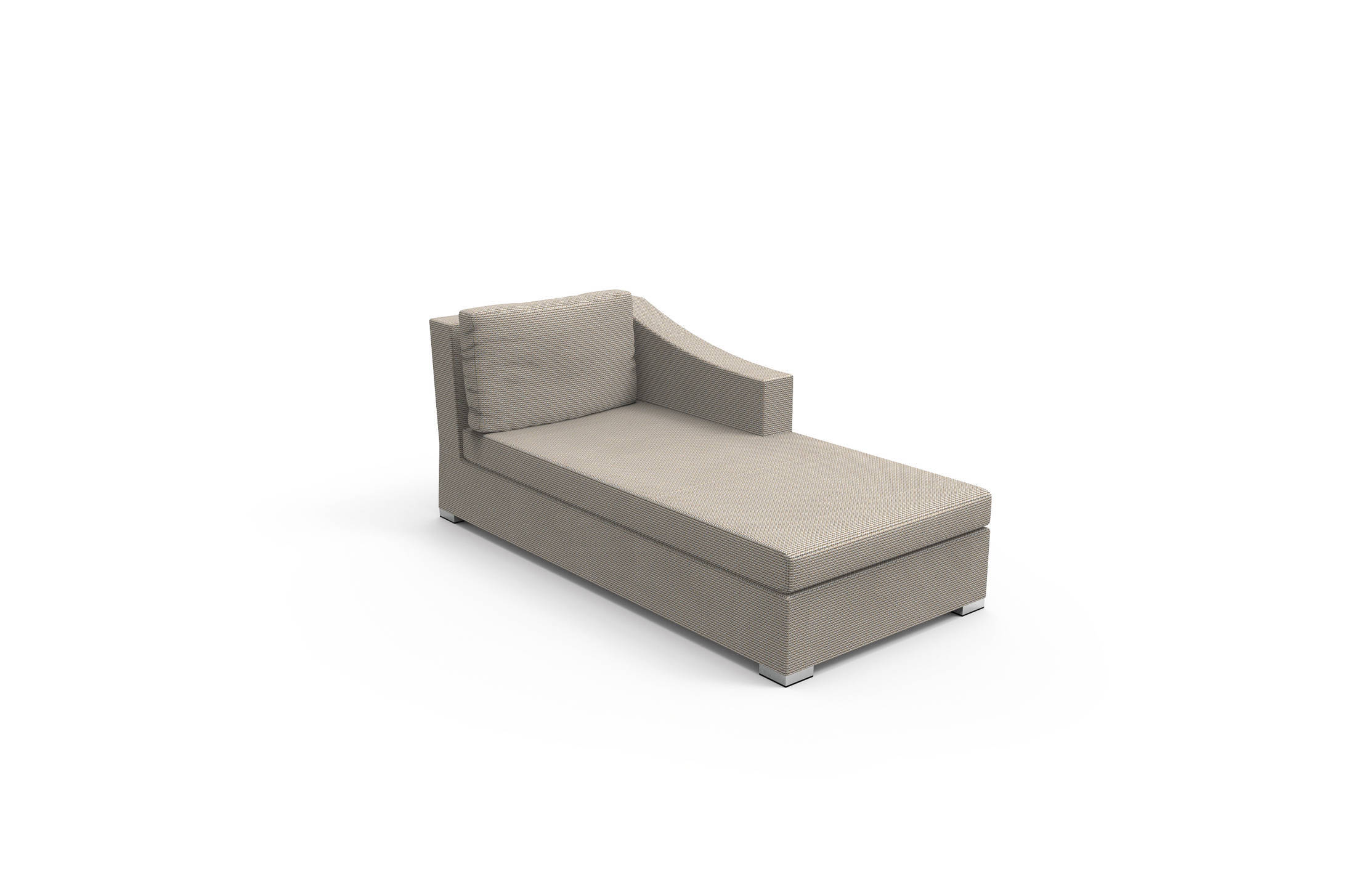 Vivereverde cover sofa lounge sx chiccollection divani for Sofas resina exterior