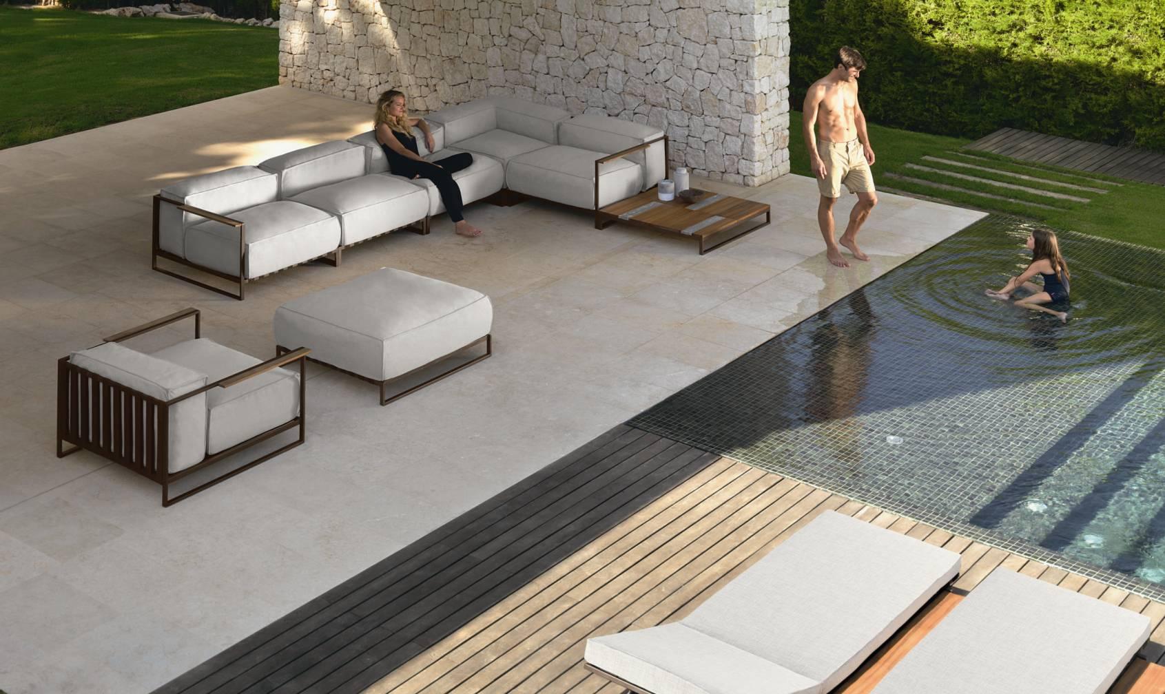 Dondolo Da Giardino In Legno : Vivereverde divano cx casildacollection divani letto da giardino