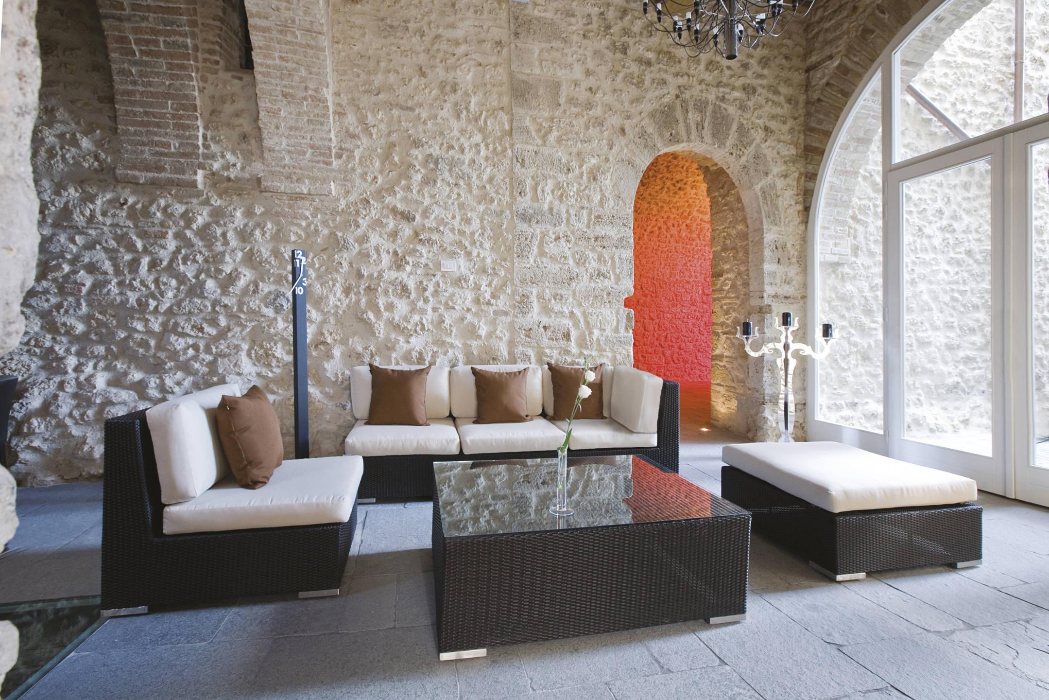 Divani Per Esterni In Plastica : Vivereverde sofa cx 1 posto newyorkcollection divani per esterno