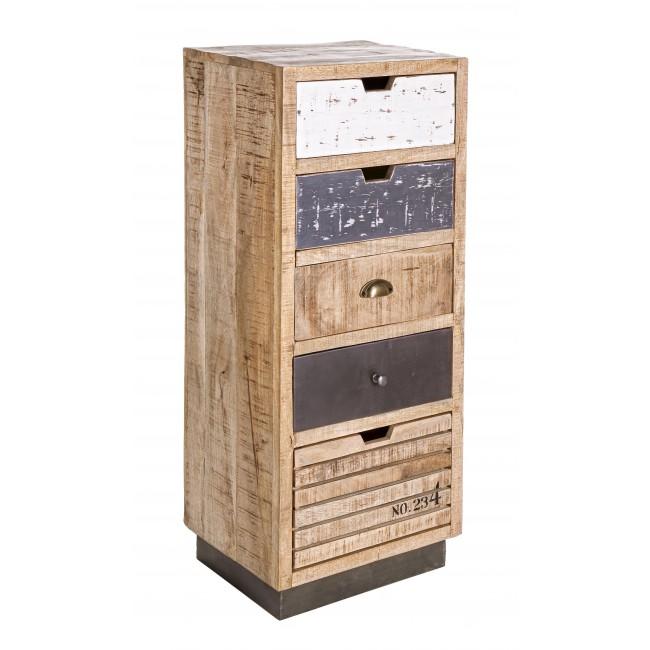 Vivereverde | Cassettiera 5c Tudor | cassettiere legno ...