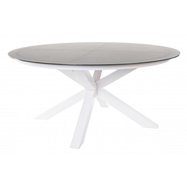 Tavoli Da Giardino Decorati.Vivereverde Tavolo Russel D160 Tavoli Da Giardino Con Panche