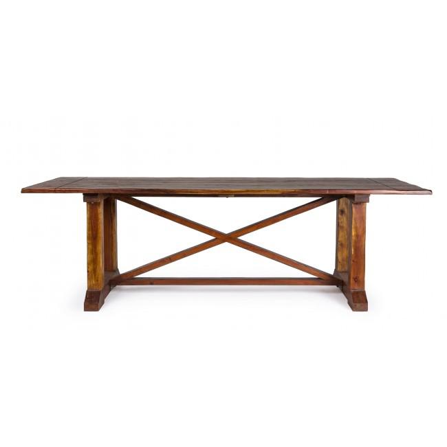 Vivereverde tavolo chateaux 240x100 tavoli in legno da interno tavoli e panche da - Tavoli pieghevoli da interno ...