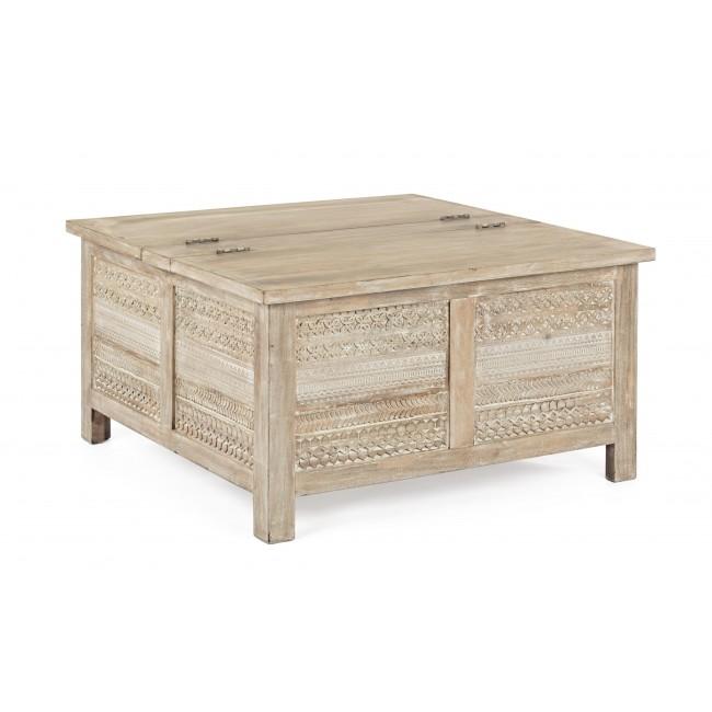 Tavolino Contenitore Da Salotto.Vivereverde Tavolino C Contenitore Mayra Tavolini Da Salotto