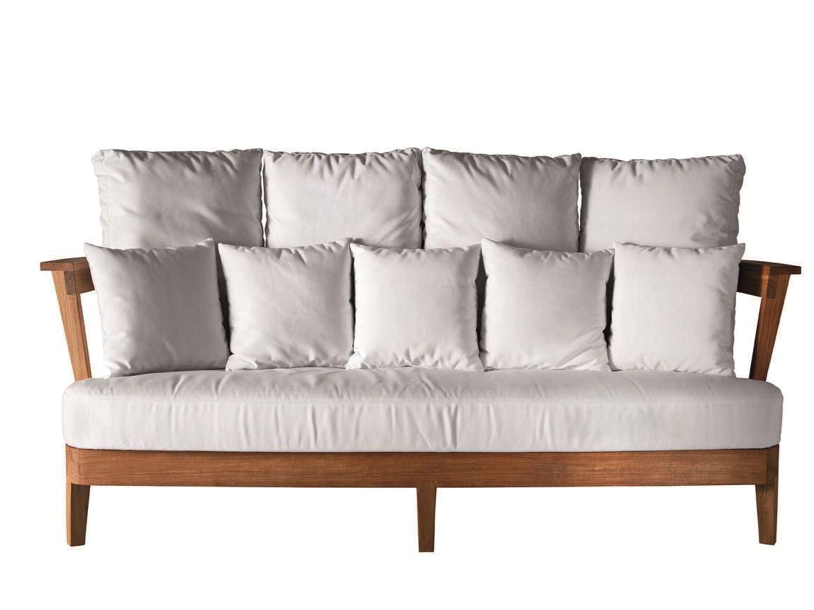 Divani Per Esterni Usati : Vivereverde divano posti borgos in teak divani per esterno