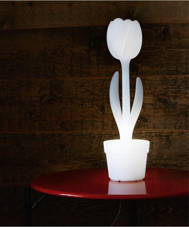 Lampada Fiore Tulipano : Vivereverde lampada tulip xl illuminazione da esterno bologna