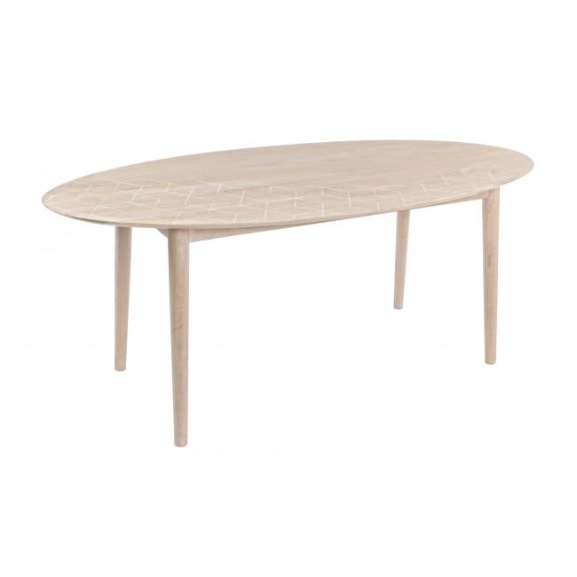 Vivereverde tavolo bjorg 190x100 tavoli in legno da interno tavoli e panche da interno - Tavoli pieghevoli da interno ...