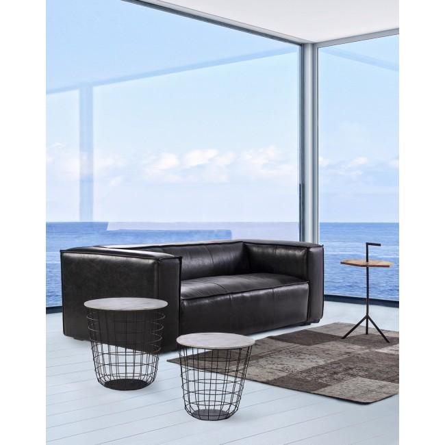 Vivereverde set 2 tavolino contenitore marble tavolini for Torrisi arredi giardino catania