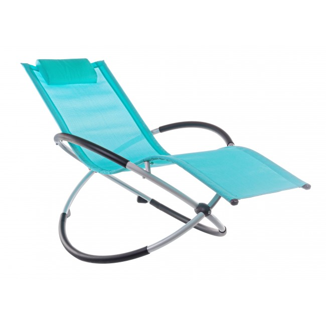 Vivereverde poltrona dondolo zenit sedia da giardino americana sedia da giardino alluminio - Sedia a dondolo da giardino ...