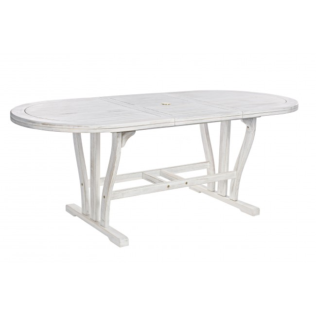 Vivereverde   Tavolo Octavia Ovale Allungabile 150-200x90   tavoli ...