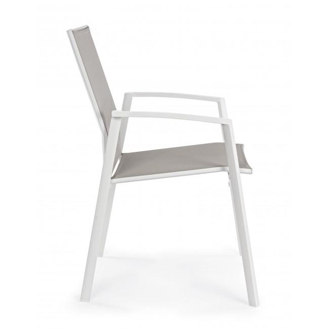 Vivereverde sedia con braccioli cruise sedie da - Sedie da giardino in rattan ...